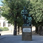 Monumento al Partigiano in Piazza edmondo De Amicis a Sesto Fiorentino
