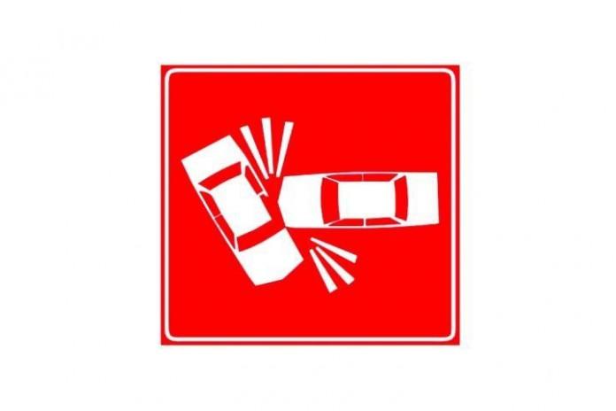 Simbolo di incidente stradale
