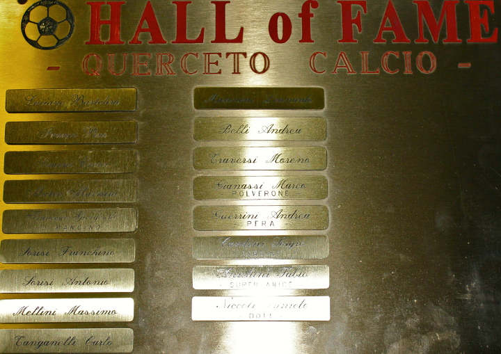 Hall of fame Querceto