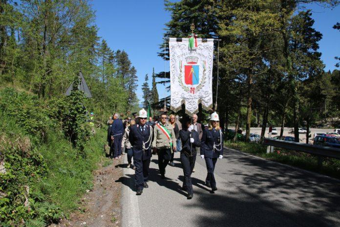 Commemorazione dei morti del lunedì di Pasqua del 1944 a Cercina