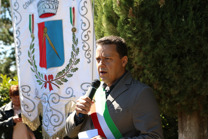 Commemorazione dei morti del lunedì di Pasqua 1944 a Cercina. Damiano Sforzi