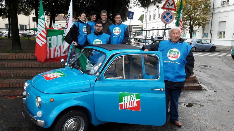 Ascoltiamo campi la campagna di forza italia tuttosesto for Deputati di forza italia