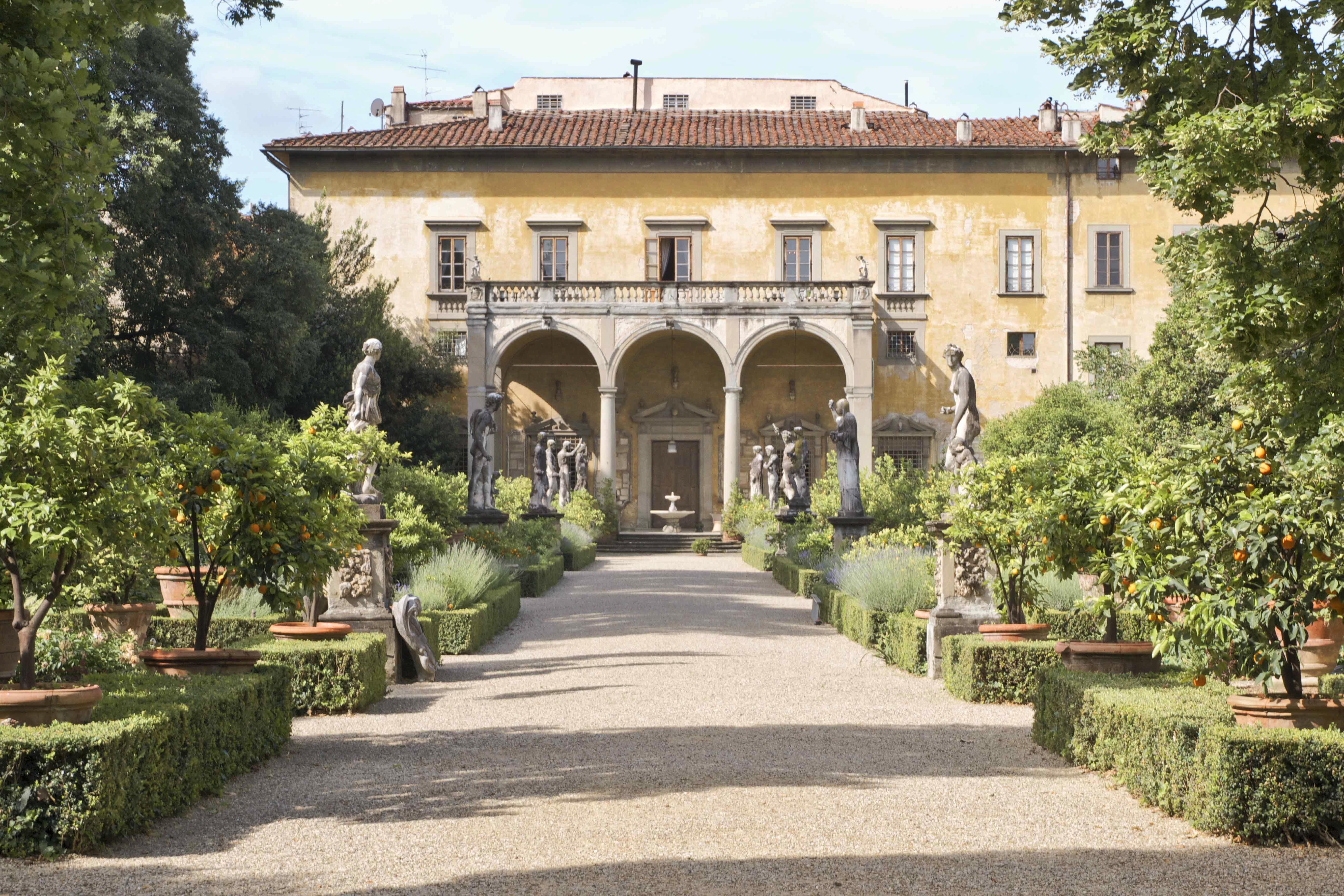 Docce Per Esterni E Giardini al giardino corsini di firenze raccolta fondi per il museo