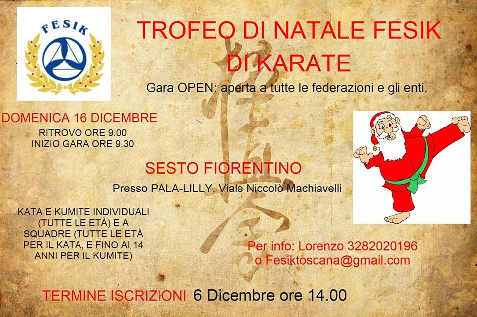Immagini Karate Natale.Trofeo Di Natale Di Karate Al Palalilly Di Sesto Tuttosesto