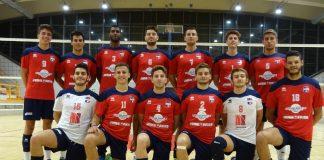 Squadra pallavolo sestese serie C 2018-19