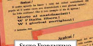Immagine della copertina del libro di Ivan TognariniSesto Fiorentino nella lotta contro il fascismo ed il nazismo