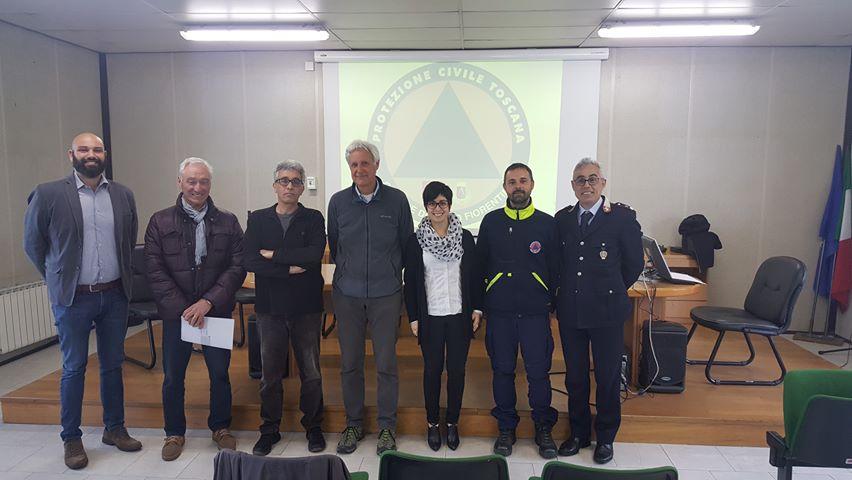 Conferenza stampa Protezione Civile Sesto