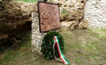 Inaugurazione del Cippo intitolato dan Uligio Bortolotti