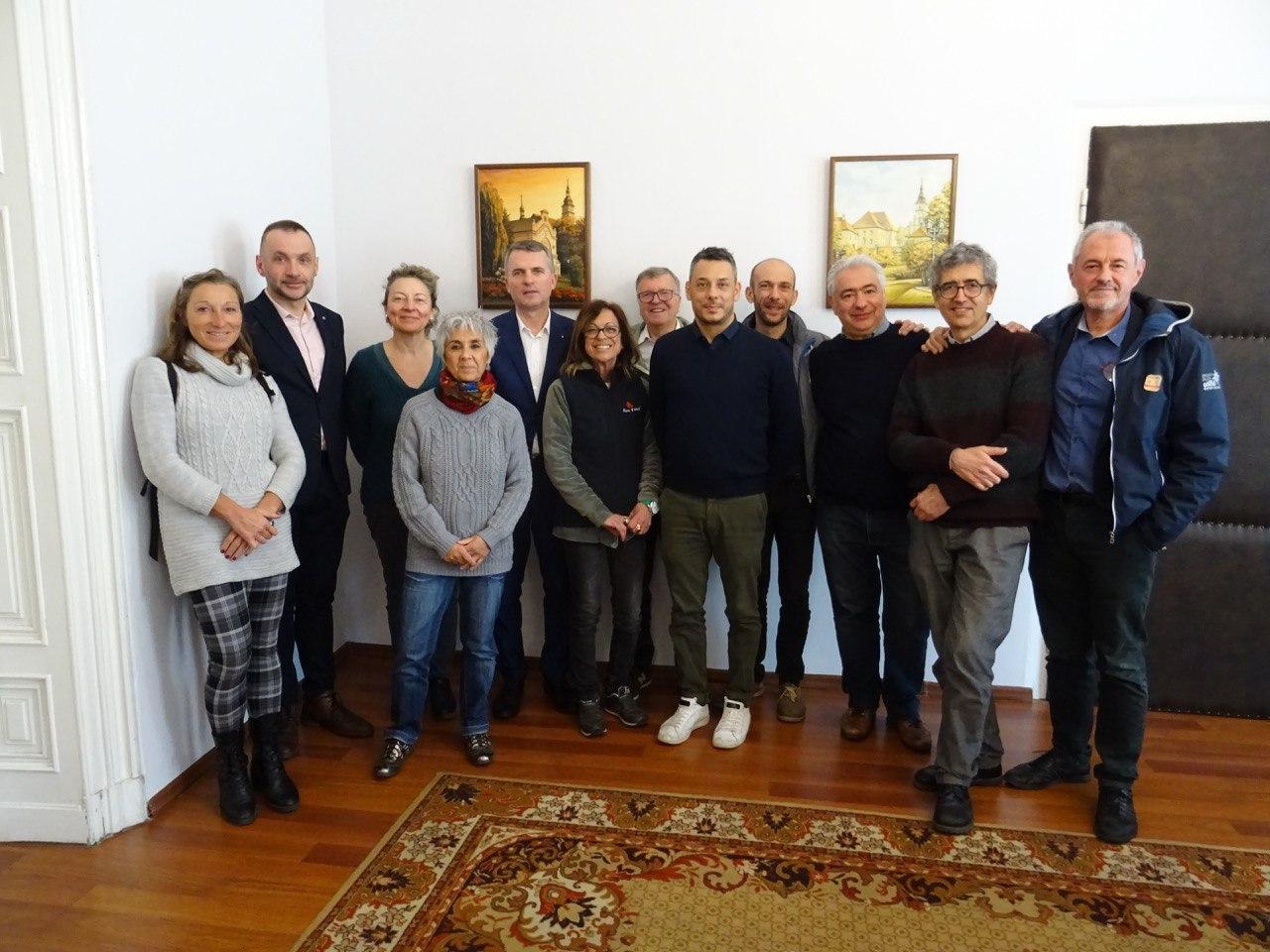 Delegazione slow food in Polonia