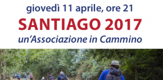 Locandina dell'associazione Santiago 2017