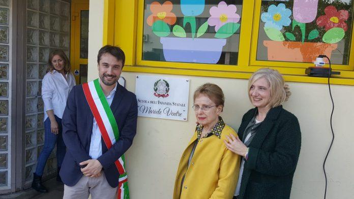Il sindaco di Sesto Fiorentino intitola la scuola a Mariele Ventre