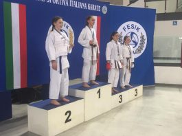Karate fesik premiazioni Renbukan