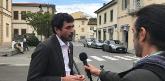 Fratoianni al manchino di Sinistra Italiana a Sesto