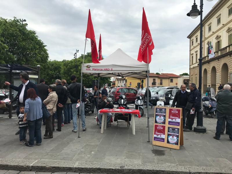 Banchino Sinistra Italiana a Sesto