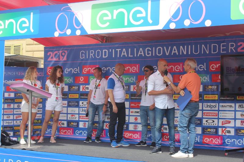 Giro d'Italia under 23, partenza Sesto Fiorentino