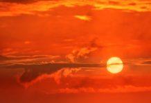 Sole tramonto