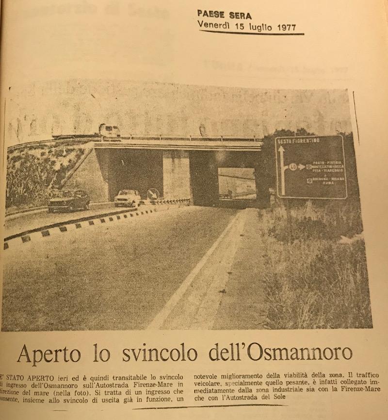 Svincolo autostradale all'Osmannoro