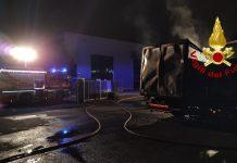 Incendio Calenzano
