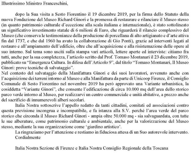 Italia Nostra-Richard-Ginori