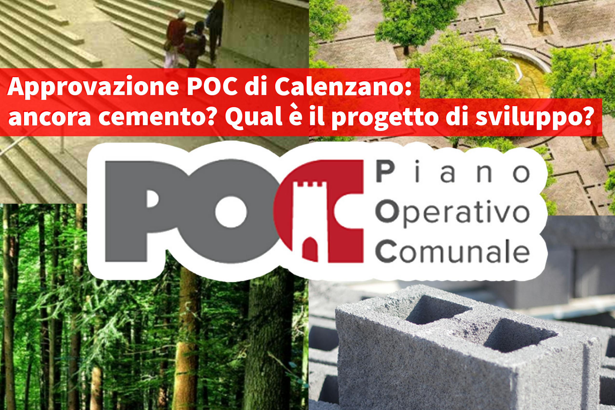 Sinistra per Calenzano, piano operativo comunale