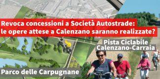 Sinistra per Calenzano autostrade