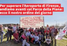 Aeroporto - Sinistra per Calenzano