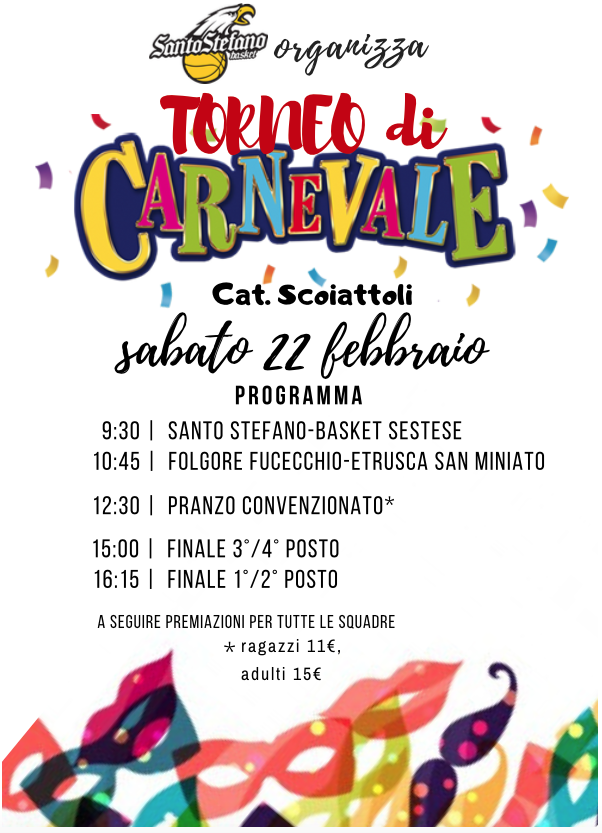 Carnevale Santo Stefano Basket