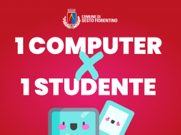1 computer x 1 studente