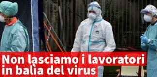 lavoratori virus Sinistra per Calenzano
