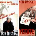Locandine elezioni 1948