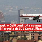 aeroporto sinistra per Calenzano