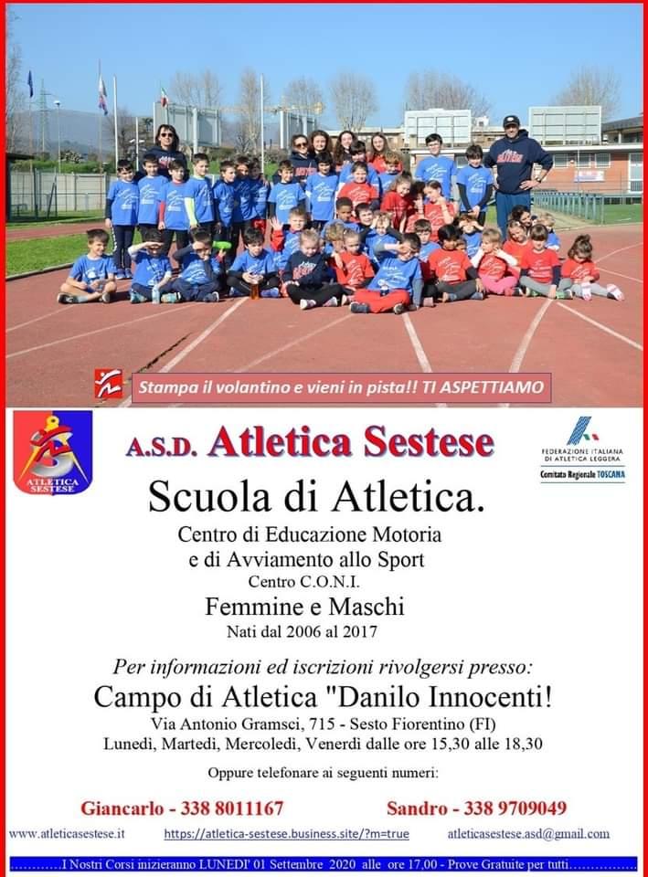 poster Atletica Sestese