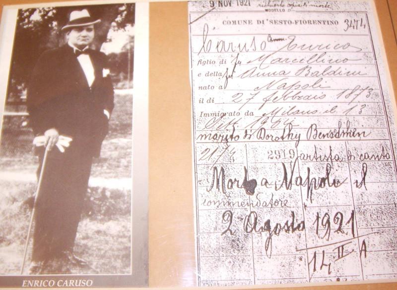 13 Settembre 1904 Enrico Caruso Torna Di Casa A Sesto Tuttosesto