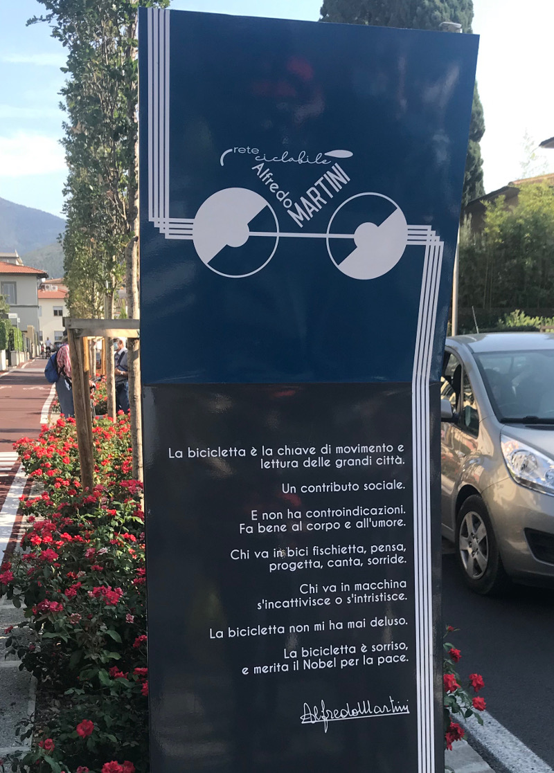 Ciclabile Martini 2020