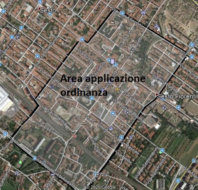 area ordinanza Falchi