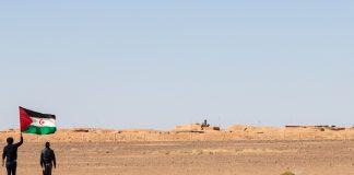 Saharawi-muro della vergogna
