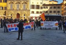 Manifestazione Toscana Aeroporti Handling