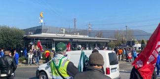Sciopero logistica Calenzano