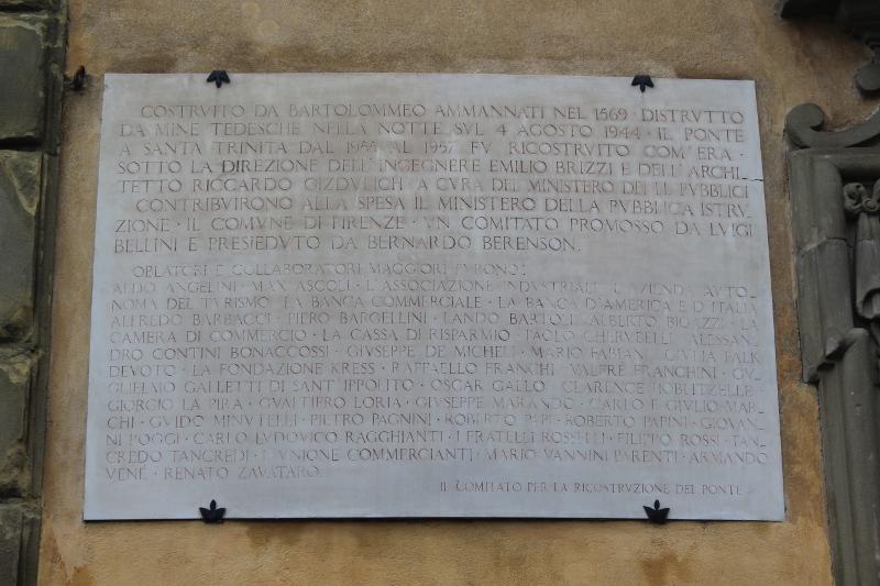 Ponte Santa Trinita 1