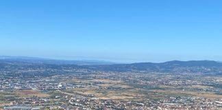 Panorama della Piana